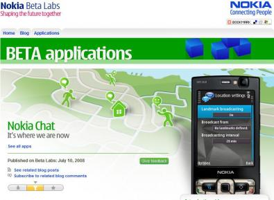 Arriva Nokia Chat