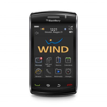 blackberry storm2 wind