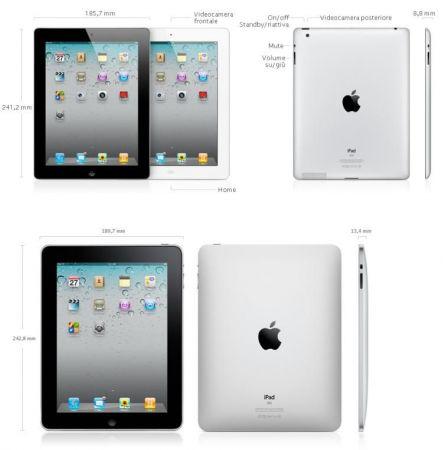 iPad 2 contro iPad