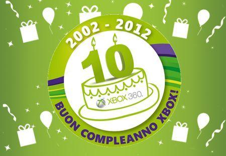 xbox dieci anni compleanno europa